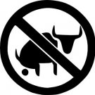 No Bull Vinyl Decal