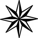Nautical Star Vinyl Decal