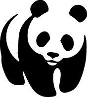 Panda Bear Vinyl Decal
