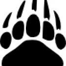 Bear Paw Vinyl Decal