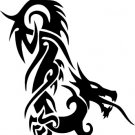 Tribal Dragon Vinyl Decal