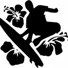 Surfer Vinyl Decal
