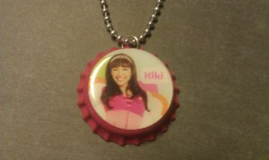 KiKi Fresh Beat Band Bottle Cap Necklace