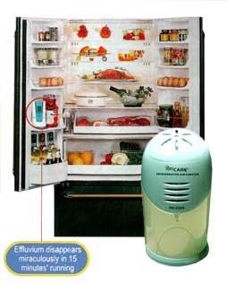 IonCare Refrigerator Ozone Purifier - Latest Technology
