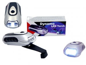 Dynamo crank it wind it flashlight torch with 3 Led  LOWEST PRICE ON THE NET