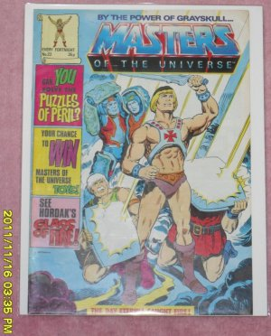 Masters of the Universe Comic Magazine (1987) number 22