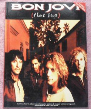 Bon Jovi These days guitar tablature