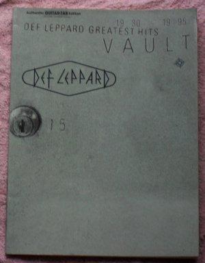 Def Leppard � The Vault guitar tablature