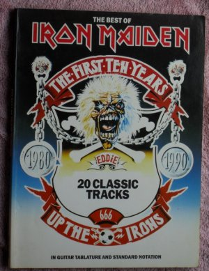 Iron Maiden the best of Guitar Tablature