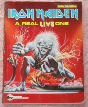 Iron Maiden A real live one tablature book