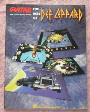 Def Leppard � the best of tablature