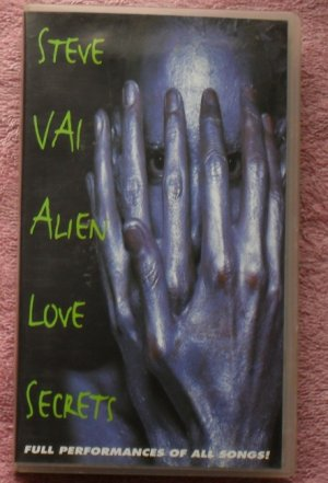 Steve Vai � Alien Love Secrets (VHS Video)