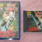 Iron Maiden – Maiden England  (VHS Video/CD Combo)