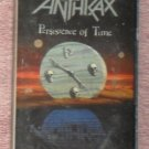 Anthrax – Persistance of Time audio Cassette