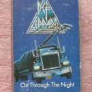 Def Leppard – On through the Night Audio Cassette