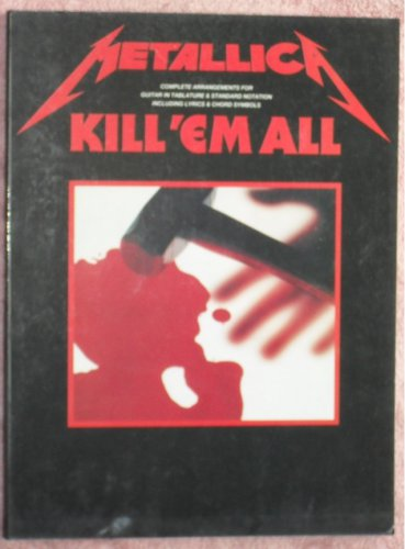 Metallica Kill em all guitar tablature