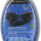 Dynex 10' Parallel File Transfer Cable