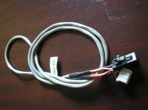 MPC-2 to Soundblaster CD-ROM Audio Cable (Black to White) w/ clips
