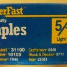 """PowerFast Light Duty Staples, 5/16"""""""