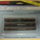 "Ryobi OSS450 Oscillating Spindle 80 Grit Sanding Sleeves - .5""x4.5"" Medium"
