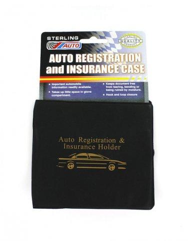 Vehicle Insurance & Registration Case Holder Folder Wallet for Auto Car Truck