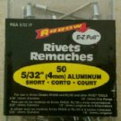 Arrow E-Z Pull RSA 5/32 IP (4mm) Short Aluminum Rivets (50-Pack)