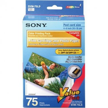 Sony SVM-75LS Photo Paper Pack