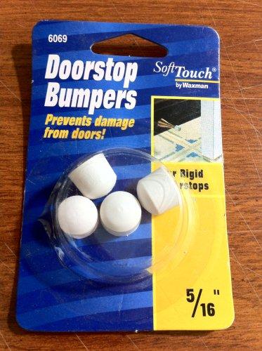 """Softtouch Waxman 5/16"""" Doorstop Door Stop Bumpers"""