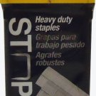 "Stanley TRB504T Heavy Duty Staples 1/4"" 6mm 1000 Count Pack"