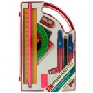 10 Piece Math Set in Carrying Case