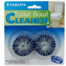 2 Pack Toilet Bowl Cleaner Tablets