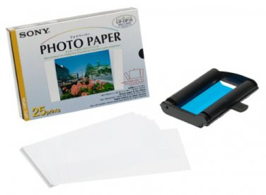 Sony UPC-10P34 Photo Cartridge and Paper