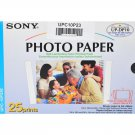 Sony UPC-10P23 Photo Cartridge and Paper