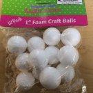 "Styrofoam Foam Craft Balls 1"" 12 Pack"
