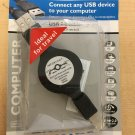 Philips Retractable USB Cable 3.2' Ft