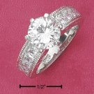 CUBIC ZIRCONIA 8MM RING ( SR-2223)