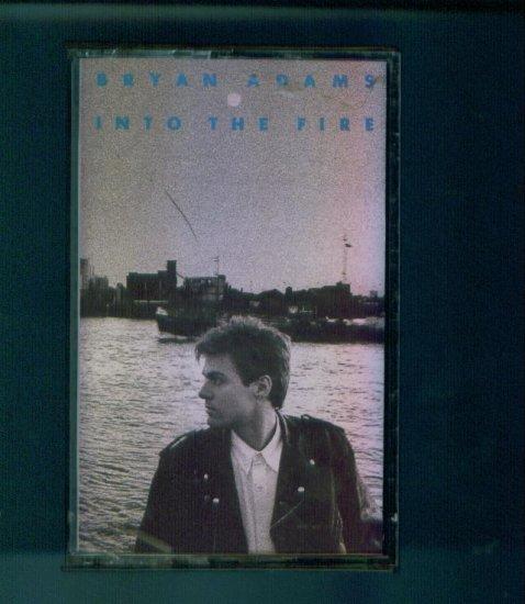 Bryan Adams Into The Fire Cassette