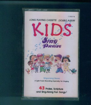 Kids Sing Praise Cassette Children's Christian Music Box1