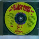 eGames Blast Thru Brick Busting Computer Game V1.3b Windows 95 98