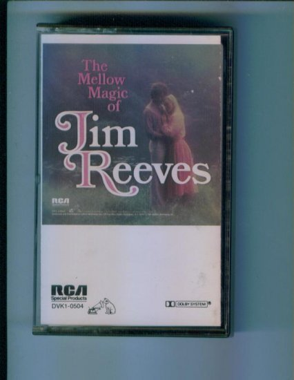 The Mellow Magic of Jim Reeves Music Cassette RCA Records