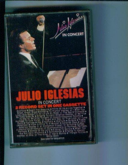 Julio Iglesias In Concert Music Cassette