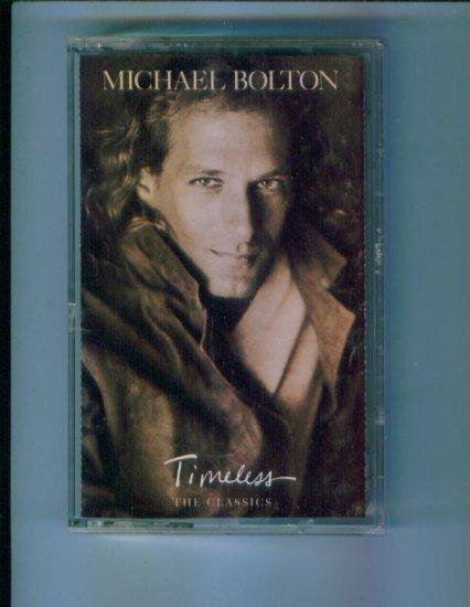 Michael Bolton Timeless The Classics Music Cassette Columbia