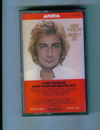 Barry Manilow Barry Manilow Greatest Hits Cassette Arista
