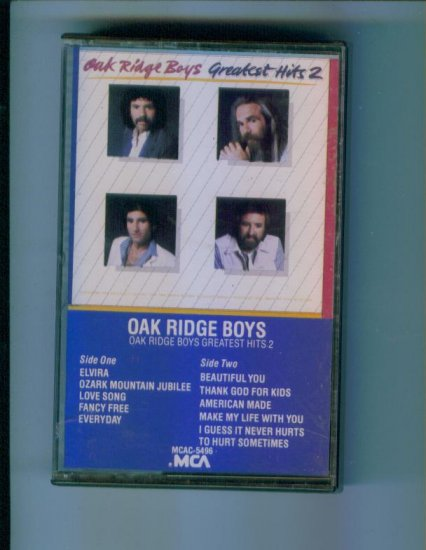Oak Ridge Boys Oak Ridge Boys Greatest Hits 2 Two Cassette