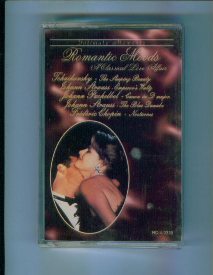Intimate Moments Romantic Moods Cassette