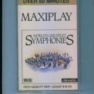 WORLD'S GREATEST SYMPHONIES Cassette Classical Music