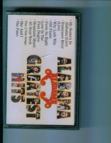 ALABAMA GREATEST HITS Music Cassette Country Feels So Right Why Lady Why