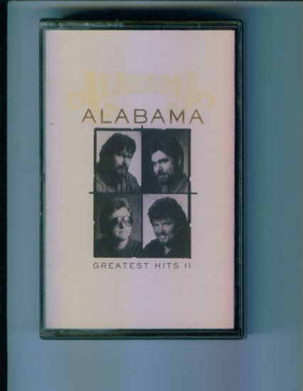 ALABAMA GREATEST HITS II Music Cassette Country Born Country Roll On Eighteen Wheeler