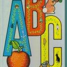 Vintage Chipboard A Golden Sturdy Book Children's ABCs