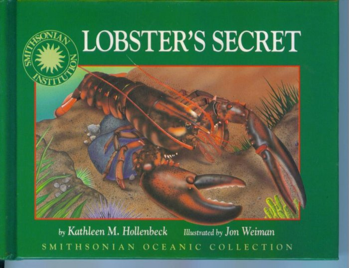 Lobster's Secret by Kathleen M Hollenbeck Smithsonian Oceanic Collection HC